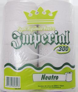 Papel Higiênico Imperial 300 - Branco - 8x220mt