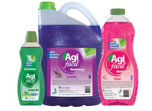 AGIFÁCIL Desinfetantes limpa, Desinfeta, Perfuma e é Bactericida