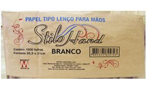 Papel Toalha Stilo Branco - 1000 Folhas
