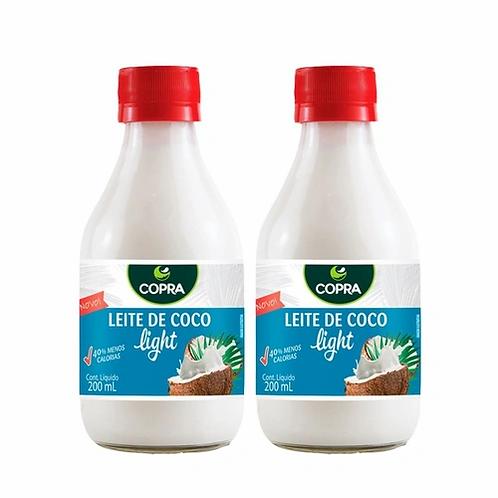 cópia de Leite de Coco Light 200ml - Copra- 2 unidades
