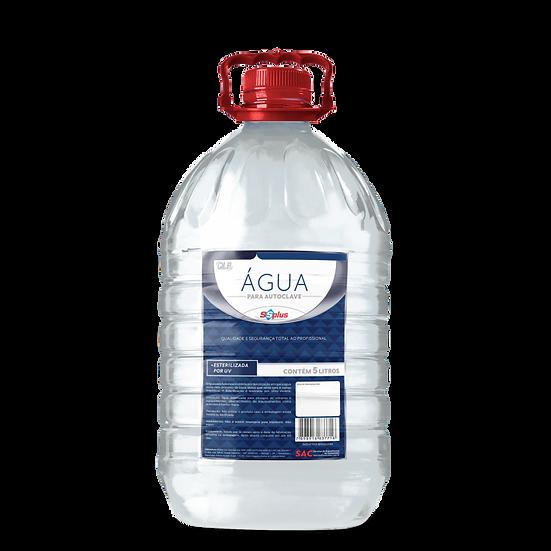 Agua para Autoclave ss plus