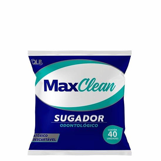 Sugador Odontológico Max clean pct c/ 40