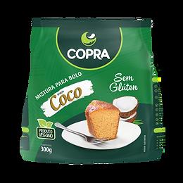 Mistura para Bolo Sabor Coco 300g - Copra