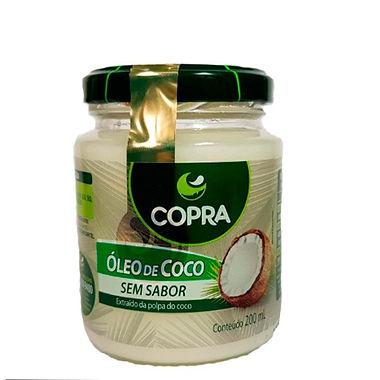 Óleo de Coco Sem Sabor -Copra -200ml