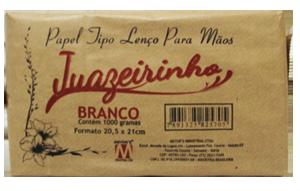 Papel Toalha Juazeirinho Branco 1000 - 4x180mt