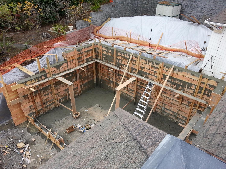 Garage Concrete Pour