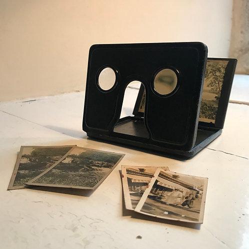 Victorian stereoscope viewer