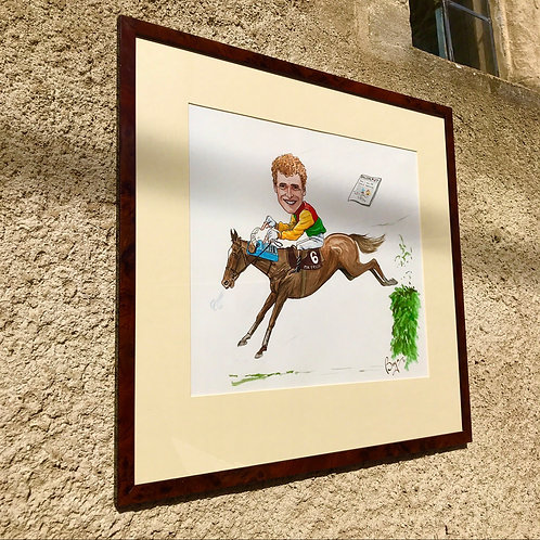 Original Artwork previously owned by Grand National winner - Marcus Armitage.