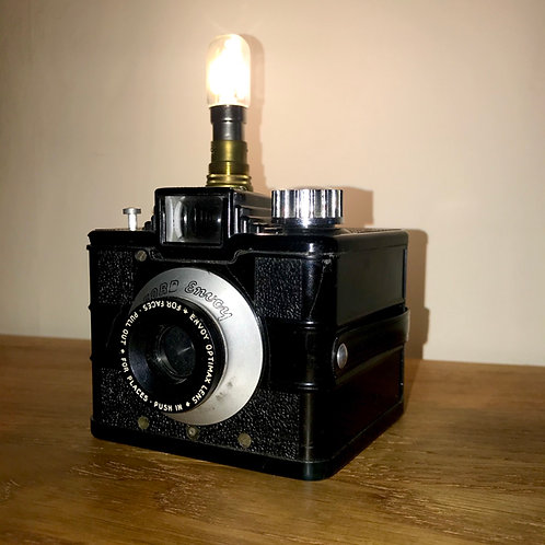 Art Deco design Ilford Envoy camera feature lamp
