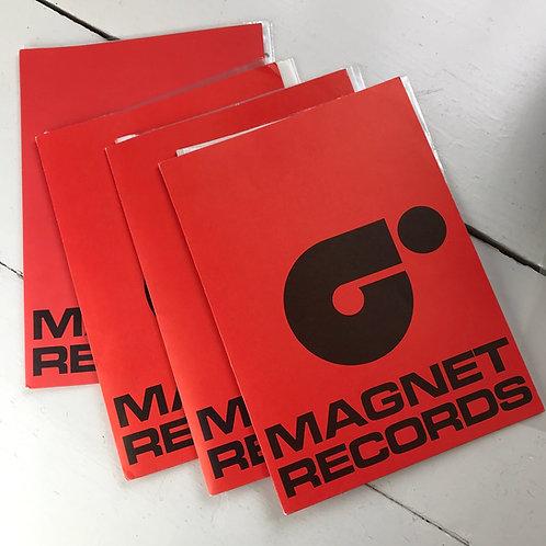 1970's Magnet Records Artist/Single Press Promotion Packs x 4