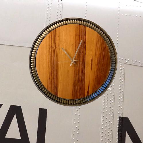 Airbus A321 vane sector wall clock.