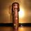 Thumbnail: Mid 20th Century Sosaku Kokeshi doll standing 29cm tall
