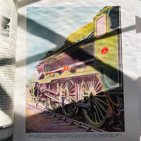 1930s Publication - Railway Wonders of the World vol 1 & 2