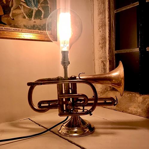 Vintage Cornet Feature Lamp