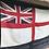 Thumbnail: Vintage printed White Ensign Flag (5702 (F3)