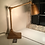 Thumbnail: Art Deco Industrial Style Articulated Desk Lamp in Gold livery