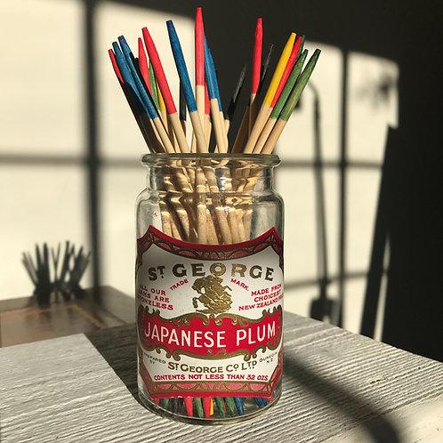 St George Japanese Plum Jam Jar