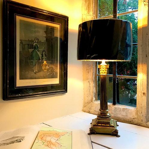Fine quality Victorian Corinthian Column Lamp