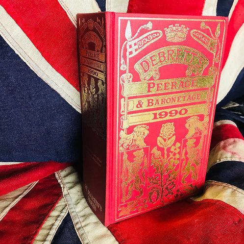 Debrett's Peerage and Baronetage - 1990 Edition