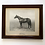 Thumbnail: 1940s framed photograph of thoroughbred 'Nearco' - Godfather of Thoroughbreds