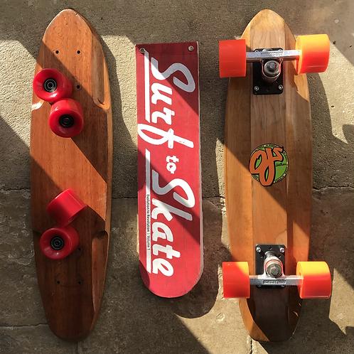 Vintage Skateboard collectors book - 'Surf to Skate'