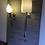 Thumbnail: Polished Aluminium Long-Arm Teardrop Wall Light