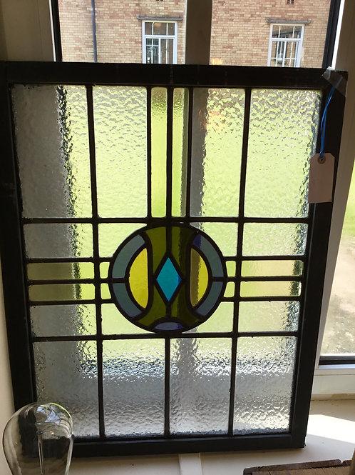 Masonic Stained Glass Panel