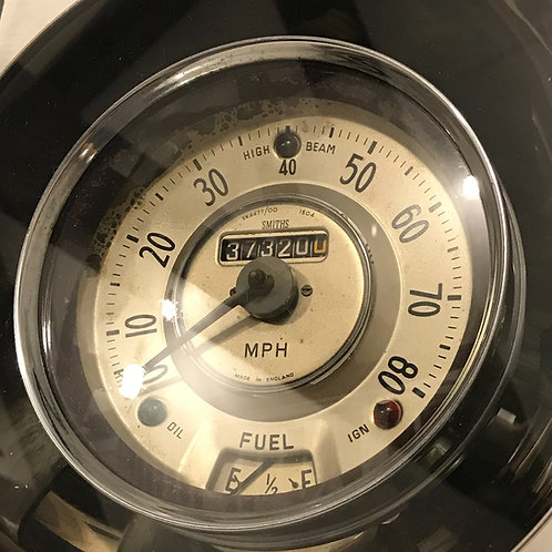 Mid 20th Century Morris Decorative Speedometer