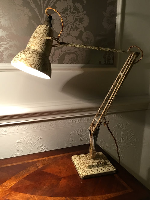 Herbert Terry 1227 Anglepoise in Cream Gold