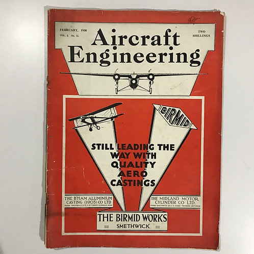 February 1930 edition - Aircraft Engineering Magazine