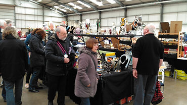 british english antique fair trip