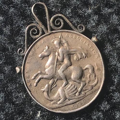 Army Temperance Association Medal - 1893.