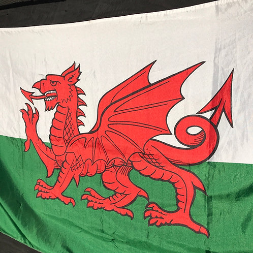 Cymru / Welsh Flag - The Red Dragon of Wales