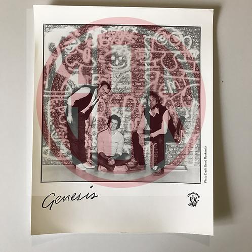 Vintage Charisma Records Promotional Photo of Genesis