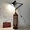 Thumbnail: Unique floor lamp - marriage of 70's industrial design