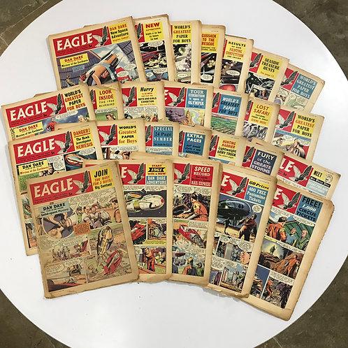 25 copies of 1960 Eagle Boys Comic
