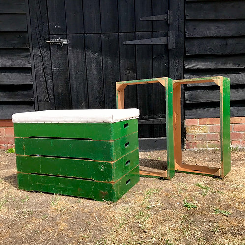 Mid-Century kids sectional vaulting horse