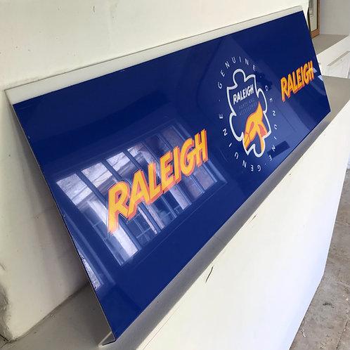 Vintage Raleigh Dealer Display Signage