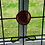 Thumbnail: Art Nouveau Rose Stained Glass Panel