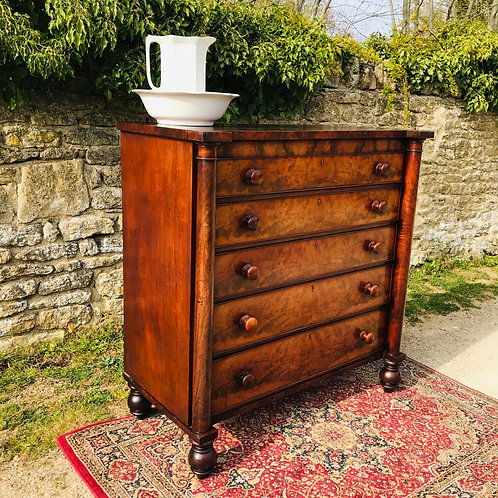 Substantial Victorian Scottish Chest of Drawers