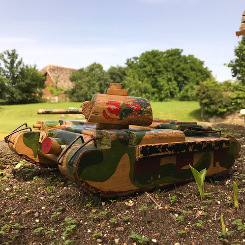 Scratch built model WW2 Infantry tank - Matilda
