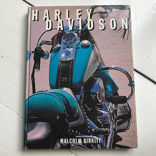 Harley Davidson Book by Malcolm Birkitt