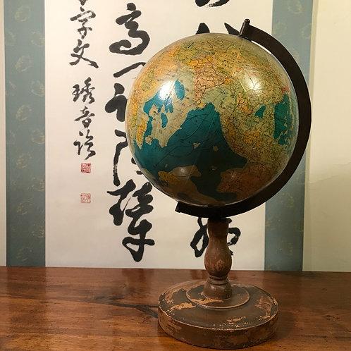 Miniature Vintage Japanese 1:84,000,000 Globe