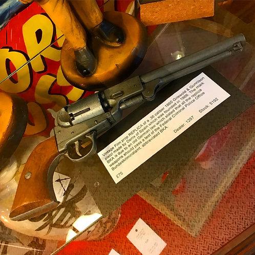 Vintage revolver film prop by Denix of Spain.