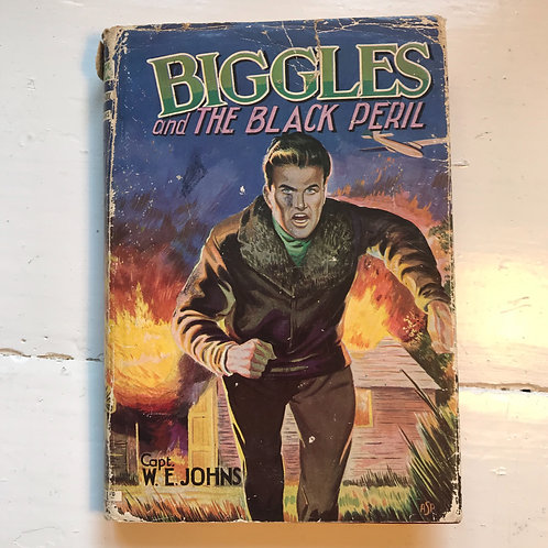 1960 hard back Edition Biggles and the Black Peril