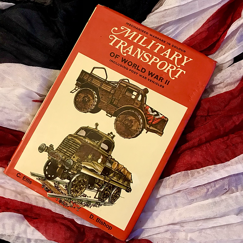 Military Transport of WWII, illustrated by Denis Bishop.