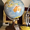 Thumbnail: Vintage Japanese Globe With Acrylic Shell