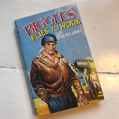 1963 hard back edition Biggles Flies to Work