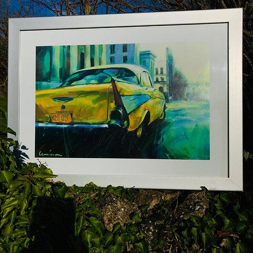 Living 50's Cuban style - Art print  - Paul Lemmon
