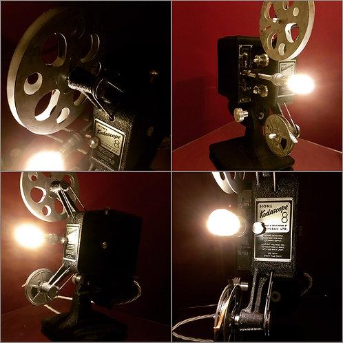 Vintage Kodascope Projector Feature Lamp
